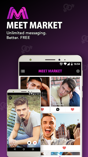 Gay Dating App. Chat & Date with MEET MARKET