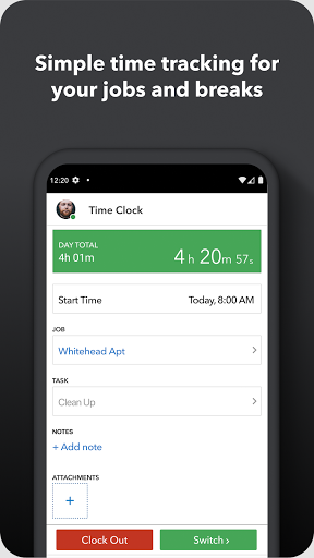 TSheets Time Tracker