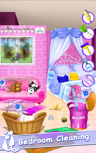 Cute Kitty Pet Care Activities