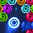 icon MB2: glowing neon bubbles 1.50