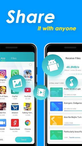 SHARE File DX: Share this file transfer app