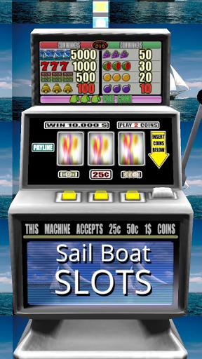 3D Sail Boat Slots - Free