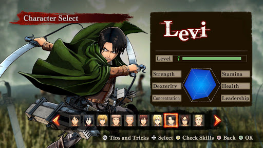 Best for Attack on Titan Game AOT Tips