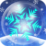 icon Bubbly Snowflake LiveWallpaper
