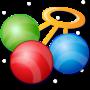 icon Baby Rattle Toy - Child Lock