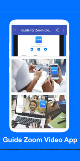 Zoom Guide for Cloud Meetings Video Conferences
