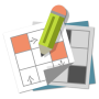 icon Grid games (crossword, sudoku)