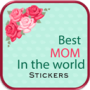 icon Mothers Day Stickers