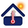 icon Indoor Outdoor Temperature