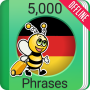 icon Learn German Phrasebook - 5000 Phrases