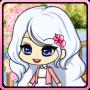 icon Cherry-blossom Pretty girl