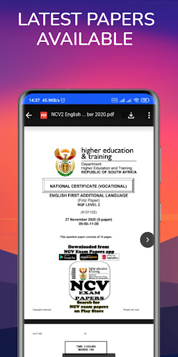 TVET NCV Study Guides - NCV Guides And Papers