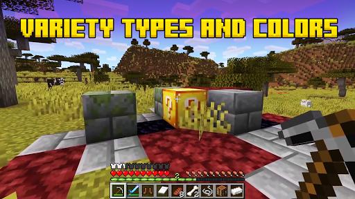 Lucky block Mod for Minecraft ™