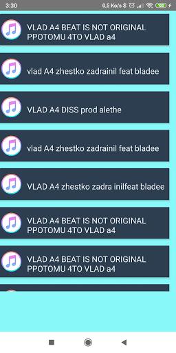 Vlad ? A4 Bumaga? Songs