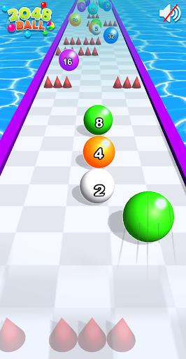 2048 Ball Run Games - Rolling Balls Merge Match
