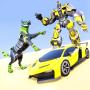 icon Wolf Robot Car Game: Robot Transforming Games