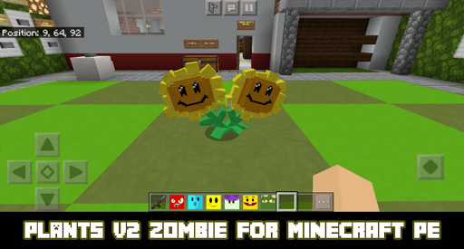 Mod Plant? vs Zombie? 2 for Minecraft
