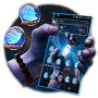 icon Cosmic Damaru Launcher Theme