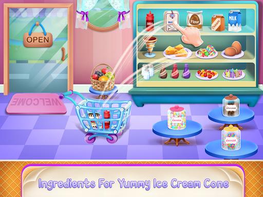 Icecream Cone Cupcake Baking Maker Chef