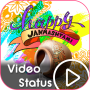 icon Janmashtami Video Status - Krishna Video Status