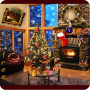 icon Christmas Fireplace LWP