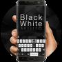 icon Black & White Keyboard Theme