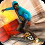 icon Skateboard Fire Run!