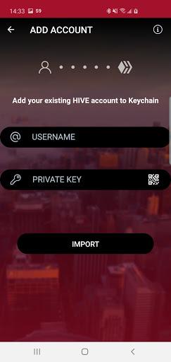 Hive Keychain