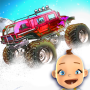 icon Baby Monster Truck Ice Racing