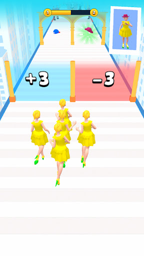 Beauty Masters 3D: Girls Running Game
