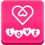 icon Love Symbol - Love Text Art