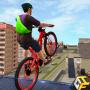 icon Rooftop BMX Bicycle Stunts