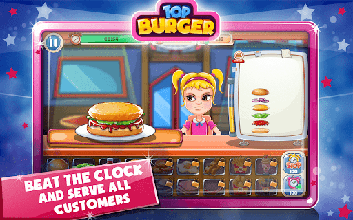 Top Burger Tycoon