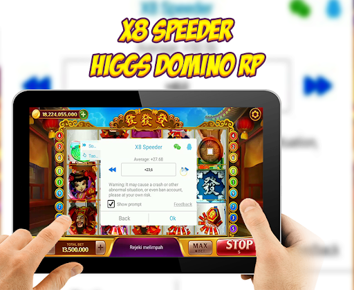 Higgs Domino RP Slots X8 Speeder