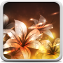 icon Glowing Flowers Live Wallpaper