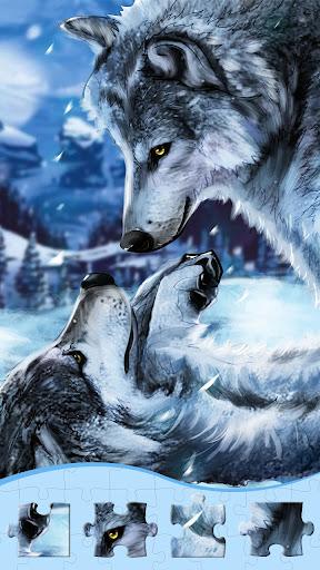 Wolf Jigsaw Puzzles, Free Jigsaw Puzzle Offline