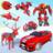 icon Grand Multi Robot Transform jet War 1.1