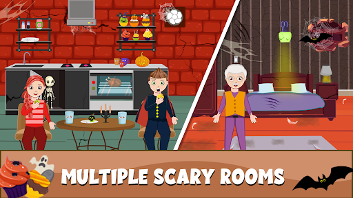 Pretend My Granny Horror Town: Haunted House Games