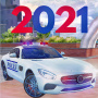 icon Real 911 Mercedes Police Car Game Simulator 2021