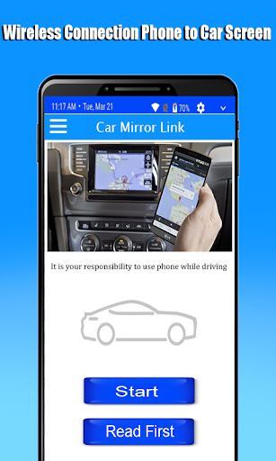 Mirror Link Phone to car