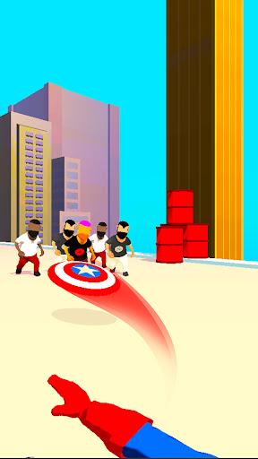 Captain Shield Hitman Assassin