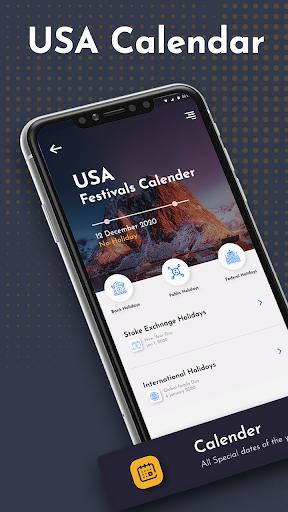 USA Calendar 2021 : USA Festivals 2021