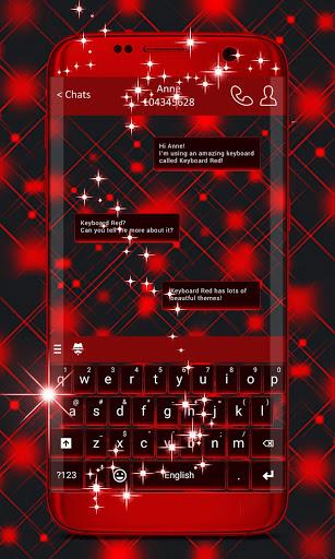 Keyboard Red