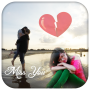 icon Miss You Photo Frame