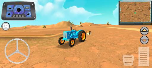 Traktör Tarla Sürme Simülatörü