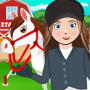 icon My Horse Stable Life: Pretend Farm Town
