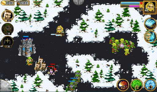 Warlords RTS: Clash of Thrones