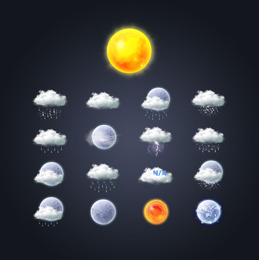 Painting - Weather icon pack