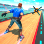 icon Sky Roller Skate Stunts Racing – Impossible Tracks