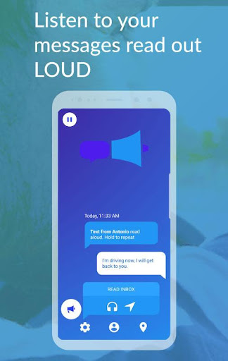 messageLOUD: Texts/Sms, Email, WhatsApp read aloud